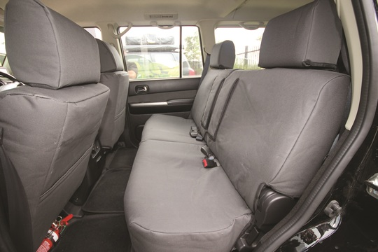 PX Ranger Canvas Seat Covers - Rear